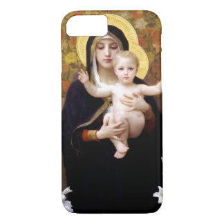 William Bouguereau- The Madonna of the Lilies iPhone 8/7 Case