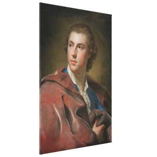 William Burton Conyngham by Anton Raphael Mengs Stretched Canvas Prints