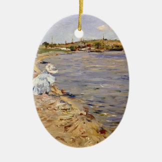 William Chase- Beach Scene- Morning at Canoe Place Ornament