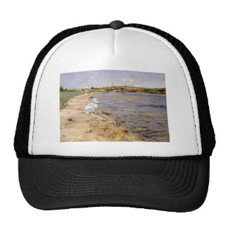 William Chase- Beach Scene- Morning at Canoe Place Hats