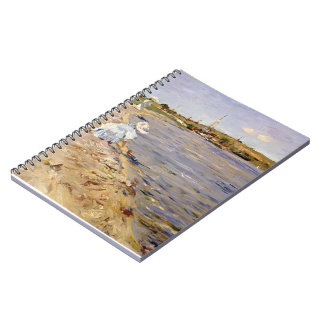 William Chase- Beach Scene- Morning at Canoe Place Spiral Notebook