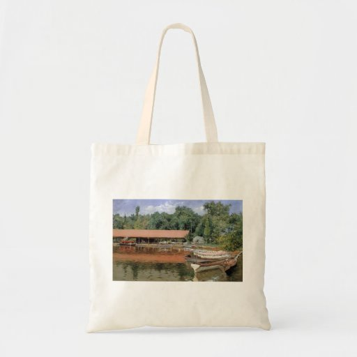 William Chase- Boat House, Prospect Park Bag