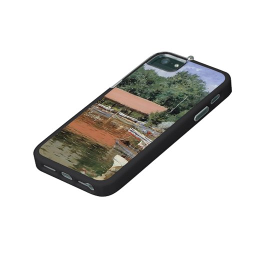 William Chase- Boat House, Prospect Park iPhone 5 Covers