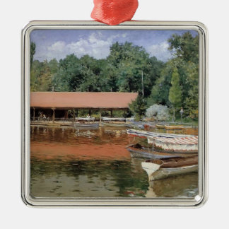 William Chase- Boat House, Prospect Park Ornaments