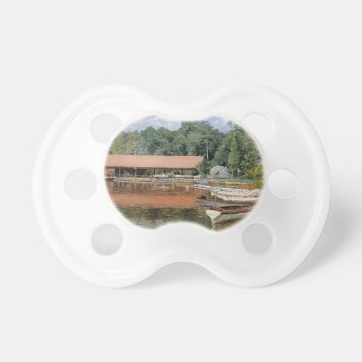 William Chase- Boat House, Prospect Park Pacifiers