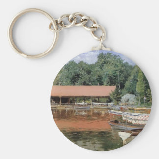 William Chase- Boat House Prospect Park Key Chains