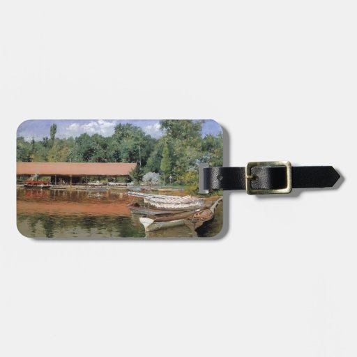 William Chase- Boat House, Prospect Park Tag For Luggage