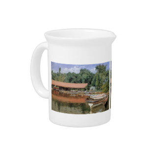 William Chase- Boat House, Prospect Park Drink Pitchers