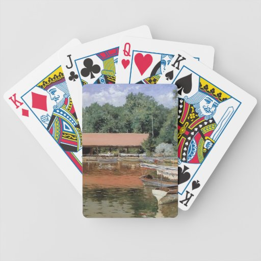 William Chase- Boat House, Prospect Park Bicycle Card Deck