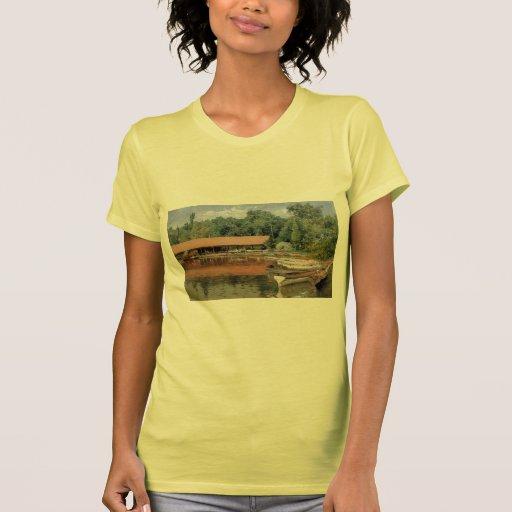 William Chase- Boat House, Prospect Park Shirt