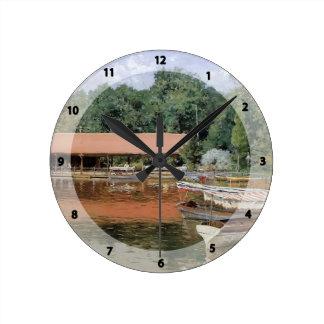 William Chase- Boat House Prospect Park Wallclocks