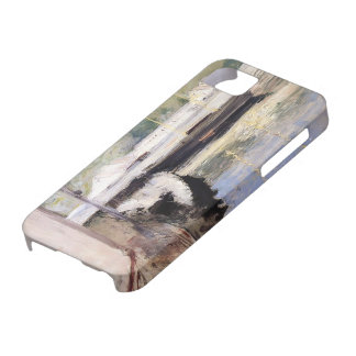 William Chase- Fish Sheds and Schooner, Gloucester iPhone 5 Case