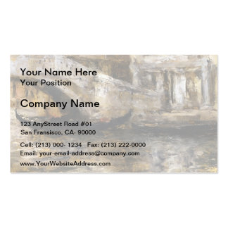 William Chase- Gondolas along Venetian Canal Business Cards