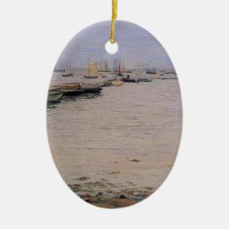 William Chase- Gowanus Bay Christmas Ornament