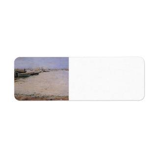 William Chase- Gowanus Bay Return Address Label