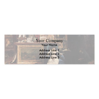 William Chase- Interior of the Artist s Studio Business Card
