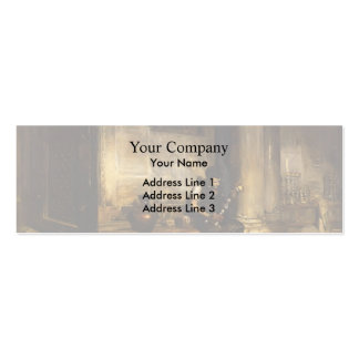 William Chase- Interior of the Baptistry Business Card Template