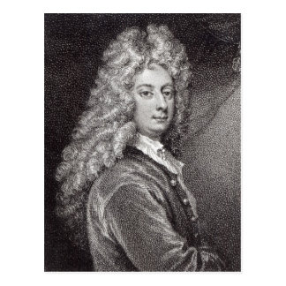 William Congreve  engraved by P.W.Tomkins Postcard