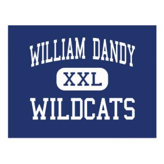 William Dandy Wildcats Fort Lauderdale Postcard