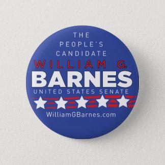 William G Barnes Button