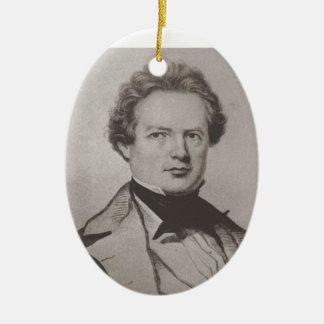 William Gilmore Simms Ceramic Ornament