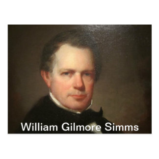 William Gilmore Simms Postcard