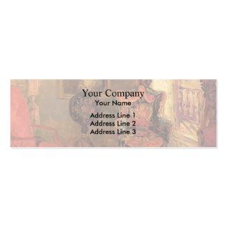 William Glackens- Twenty-Three Fifth Avenue Business Card