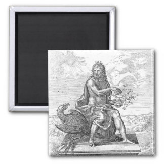 William Harvey's ' De Generatione Animalium' Square Magnet
