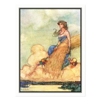 William Heath Robinson - A Song of the English Postcard