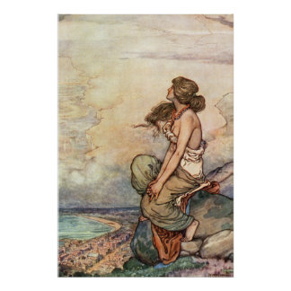 William Heath Robinson - Capetown Poster