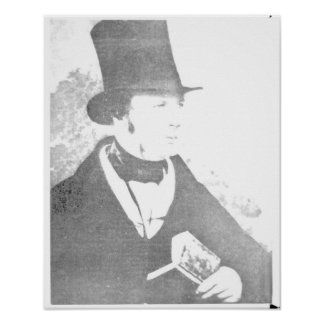 William Henry Fox Talbot  1844 Poster