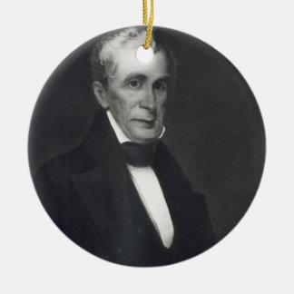 William Henry Harrison, 9th President of the Unite Ceramic Ornament