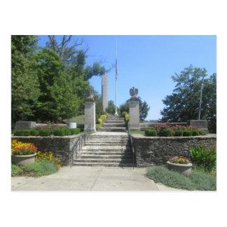 William Henry Harrison Tomb Postcard