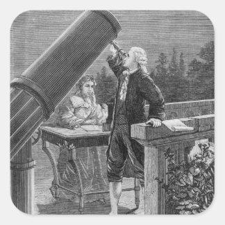 William Herschel  Discovers the Planet Uranus Stickers