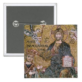 William II King of Sicily 15 Cm Square Badge