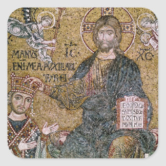 William II King of Sicily Square Sticker