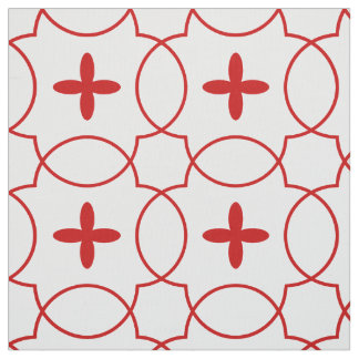 William II of Sicily pattern- red/custom
