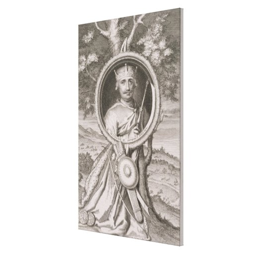 William II 'Rufus' (c.1056-1100) King of England f Gallery Wrap Canvas