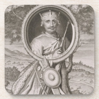 William II 'Rufus' (c.1056-1100) King of England f Beverage Coaster