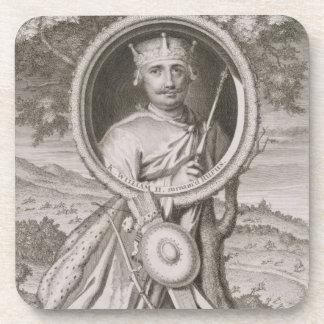 William II 'Rufus' (c.1056-1100) King of England f Drink Coaster