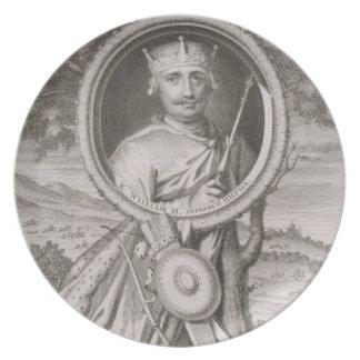 William II 'Rufus' (c.1056-1100) King of England f Plate