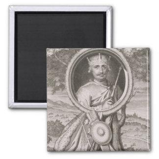 William II 'Rufus' (c.1056-1100) King of England f Square Magnet