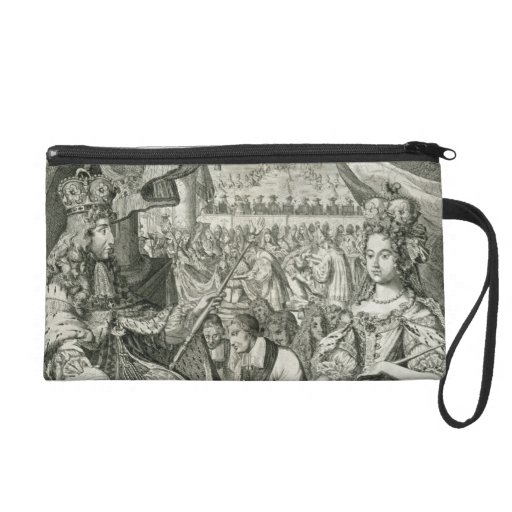 William III (1650-1702) and Mary II (1662-94) King Wristlet Purse