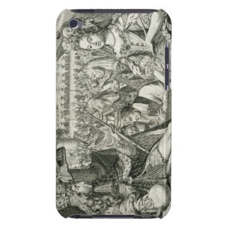 William III (1650-1702) and Mary II (1662-94) King Barely There iPod Case