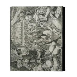 William III (1650-1702) and Mary II (1662-94) King iPad Folio Cases