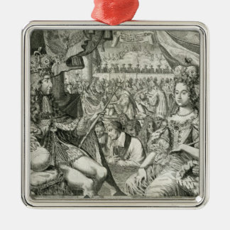 William III (1650-1702) and Mary II (1662-94) King Ornament