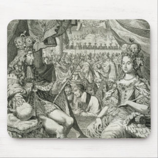 William III (1650-1702) and Mary II (1662-94) King Mouse Pad