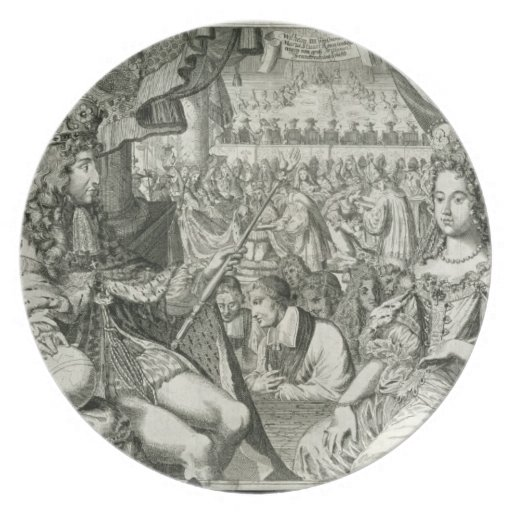 William III (1650-1702) and Mary II (1662-94) King Dinner Plates