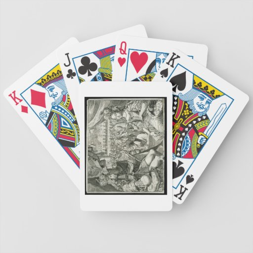 William III (1650-1702) and Mary II (1662-94) King Bicycle Card Decks