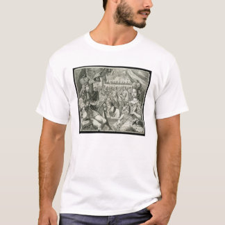 William III (1650-1702) and Mary II (1662-94) King T-Shirt